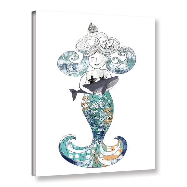 ArtWall Sarah Ogren's Mermaid, Gallery Wrapped Canvas