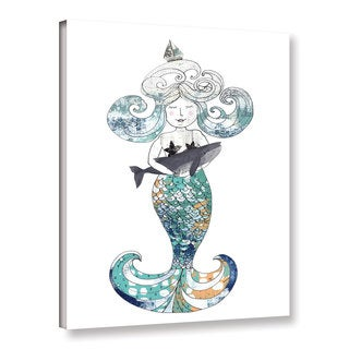 ArtWall Sarah Ogren's Mermaid, Gallery Wrapped Canvas