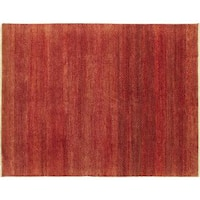 Oushak Jessica Rust Hand-knotted Rug (7'9 x 9'9)