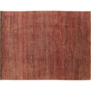Oushak Sholeh Rust Hand-knotted Rug (8' x 10'9)