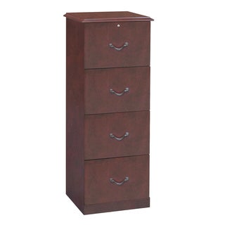 Gracewood Hollow Gjika 4-drawer Cherry Vertical File