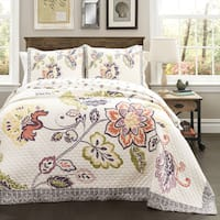 The Gray Barn Dogwood Cotton 3-piece Quilt Set