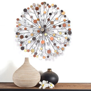Stratton Home Multicolor Starbust Wall Decoration