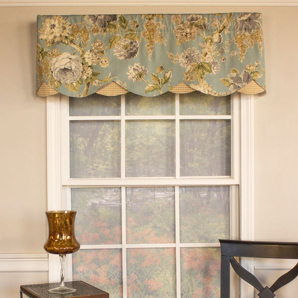 Shop Floral Bouquet Petticoat Valance Free Shipping