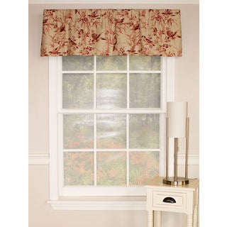 Aviary Toile Straight Valance