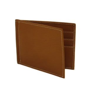 Piel Leather Bi-Fold Money Clip Wallet