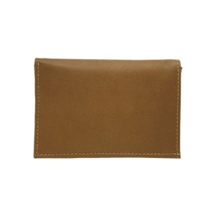 Piel Leather Large Tri-Fold Wallet
