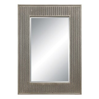 Calais Silver Finish Wall Mirror