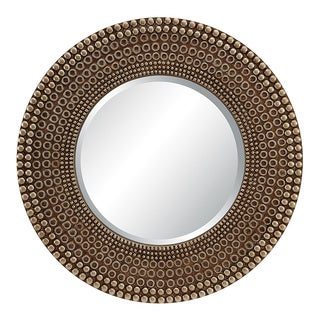 Lyon Antique Bronze Finish Wall Mirror