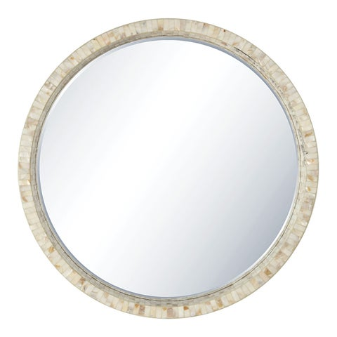 Lille Wall Mirror White Finish