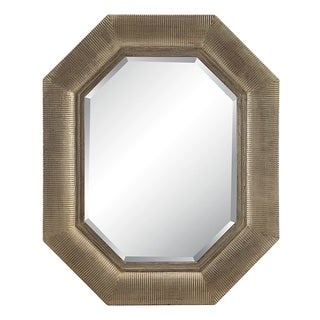 Maselle Silver Finish Wall Mirror