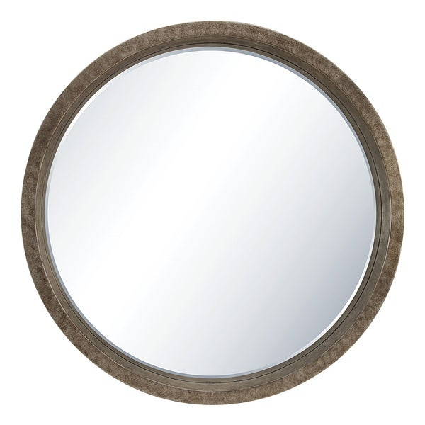 Rennes Wall Mirror in Antique Silver Finish