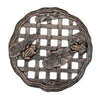 Cast Aluminum Frog Stepping Stone