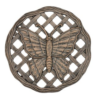 Cast Aluminum Butterfly Stepping Stone (Pack of 6)