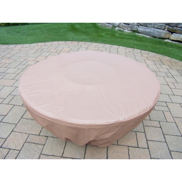 Fabric Weather Cover For 48 Inch Round And 43 Inch Octagon Gas Firepit Tables Free Shipping