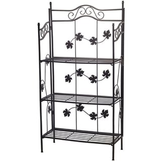 Oakland Living Sun Wave Iron Baker Rack