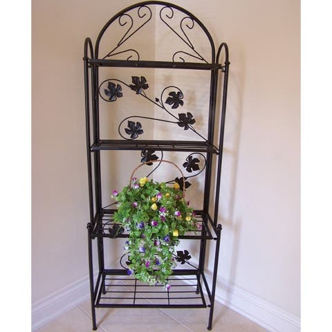 63-inch Sun Valley Iron Baker's Rack