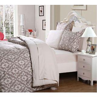 Affluence Bed-in-a-Bag 7-piece Comforter Set