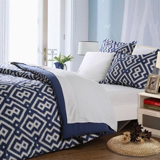 Affluence Blue Bed-in-a-Bag Comforter Set