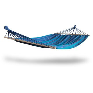 Hammaka Brazilian Style Hammock With Spreader Bars (Option: Blue)