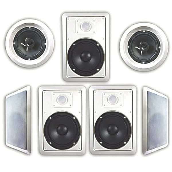 Shop Acoustic Audio HT-67 1750 Watt 7.1CH In-Wall/ Ceiling