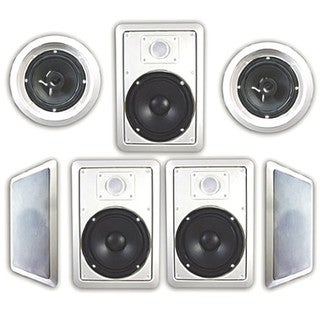 Acoustic Audio HT-67 1750 Watt 7.1CH In-Wall/ Ceiling Home Theater Speaker System