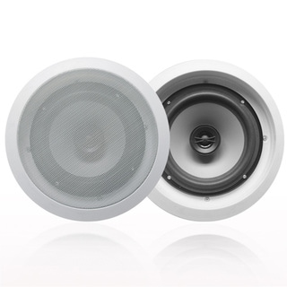 Acoustic Audio CS-IC82 In Ceiling 8-inch Speaker Pair 2 Way Home Theater 600 Watt CS-IC82-PR