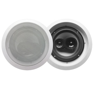 Acoustic Audio CS-IC83 In Ceiling 8-inch Speaker Pair 3 Way Home Theater 700 Watt CS-IC83-PR