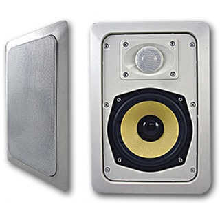 Acoustic Audio HD525 In Wall Speaker Pair 2 Way Home Theater 500 Watts HD525-PR