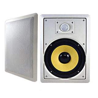 Acoustic Audio HD800 In Wall 8-inch Speaker Pair 2 Way Home Theater 700 Watts HD800-PR