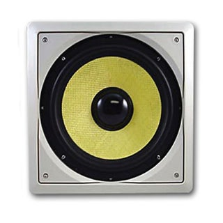 Acoustic Audio HDS10 In-Wall/ Ceiling 300 Watt 10-inch Home Theater Passive Subwoofer
