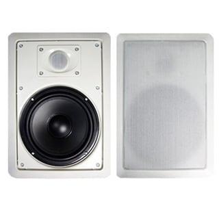 Acoustic Audio MT8 In Wall 8-inch Speaker Pair 2 Way Home Theater 600 Watt MT8-PR
