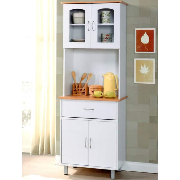 Hodedah Kitchen Cabinet Overstock 10953400