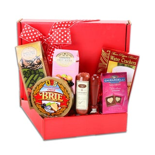 Alder Creek Valentine's Gourmet Meat and Cheese Box