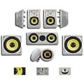Acoustic Audio HD725 In-Wall/ Ceiling Home Theater Surround 7.2 Speaker System