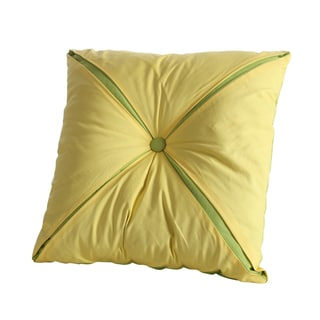 Fiesta Brand Reversible Button Accent Pillow