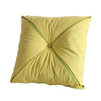 Clay Alder Home Outerbridge Brand Reversible Button Accent Pillow