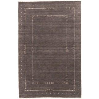 ecarpetgallery Kashkuli Gabbeh Grey Wool Rug (8' x 10')