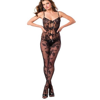 Women's Keyhole Design Bodystocking