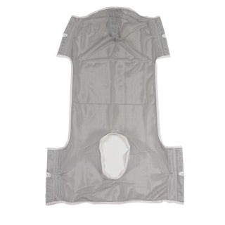 Drive Medical Dacron Patient Lift Commode Sling with Head Support