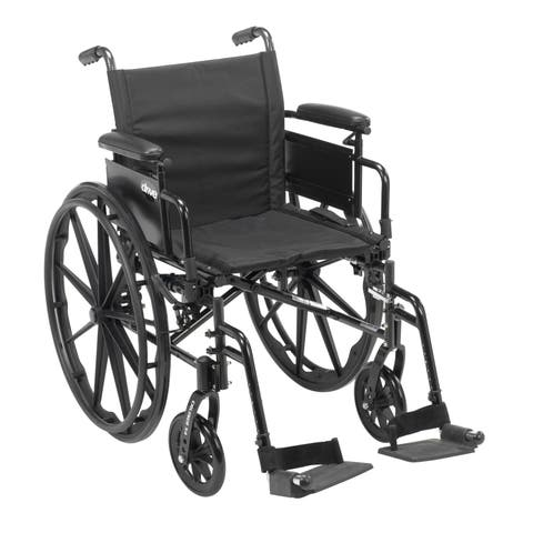 Cruiser X4 Lightweight Dual-Axle Wheelchair with Adjustable Detatchable Arms