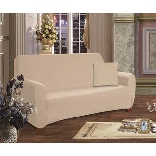 Elegant Comfort Jersey Stretch Loveseat Slipcover