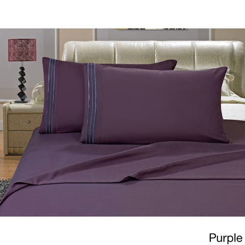Porch & Den Briggs Wrinkle and Fade Resistant Pillowcases (Set of 2)