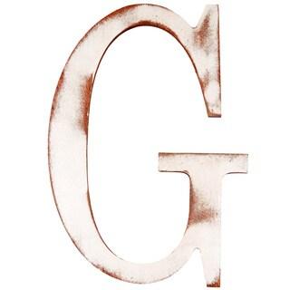 Mahogany 'G' Wooden Decorative Letter