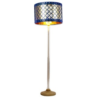 Audriana Floor Lamp (Blue)