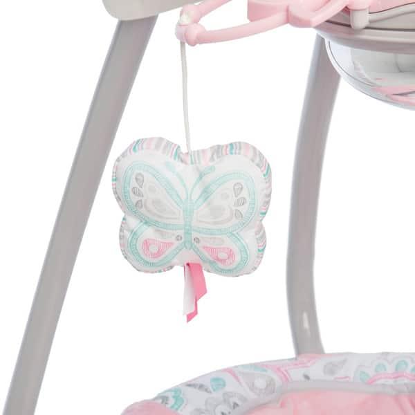Shop Fisher Price Pink Petals Cradle N Swing Free