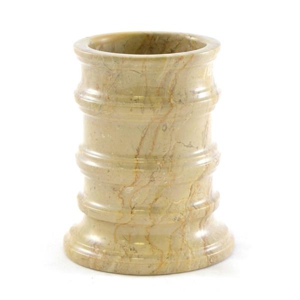 Nature Home Decor Bengal Collection Sahara Beige Marble Tumbler