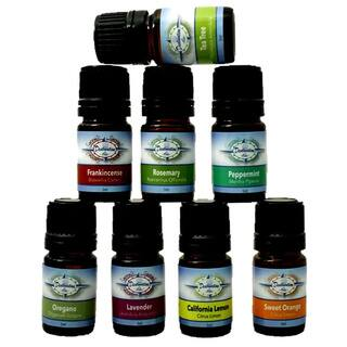 Essential Oil 100-percent Pure Top 8 Starter Variety Gift Set by Destination Oils|https://ak1.ostkcdn.com/images/products/10957709/P17983075.jpg?impolicy=medium