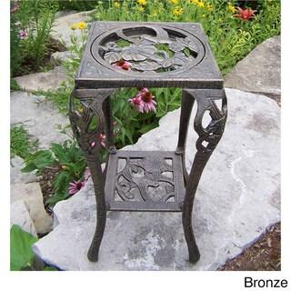 Hummingbird Iron Table Plant Stand