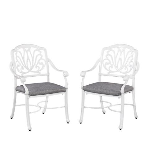 Floral Blossom II Arm Chairs (Set of 2) by Home Styles
